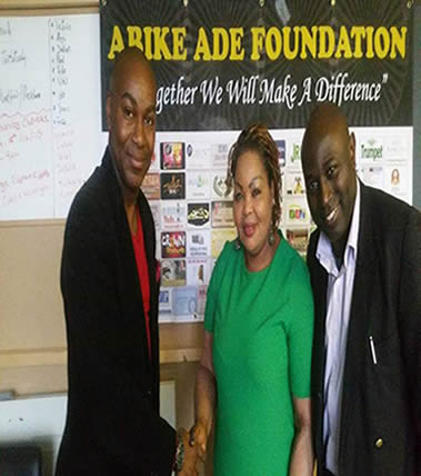 Dr Dayo Olomu donates used clothes to the charity
